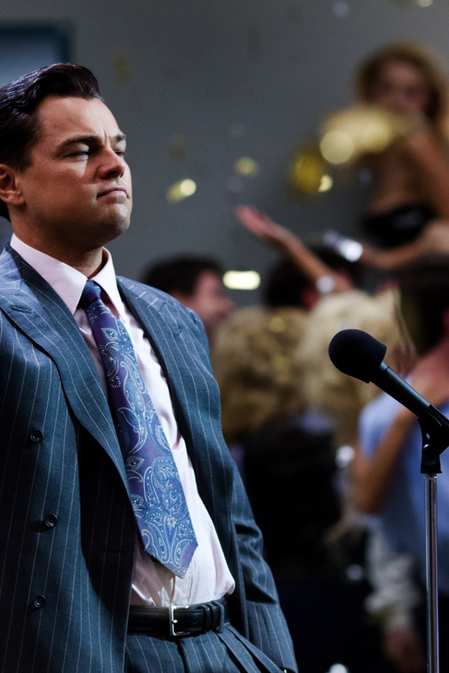 Download 640x960 The Wolf Of Wall Street Leonardo Dicaprio