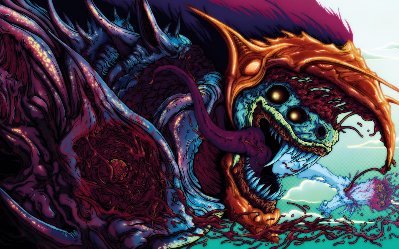 Download 1440x900 hyper beast, 3d, art, graphics, beast ...