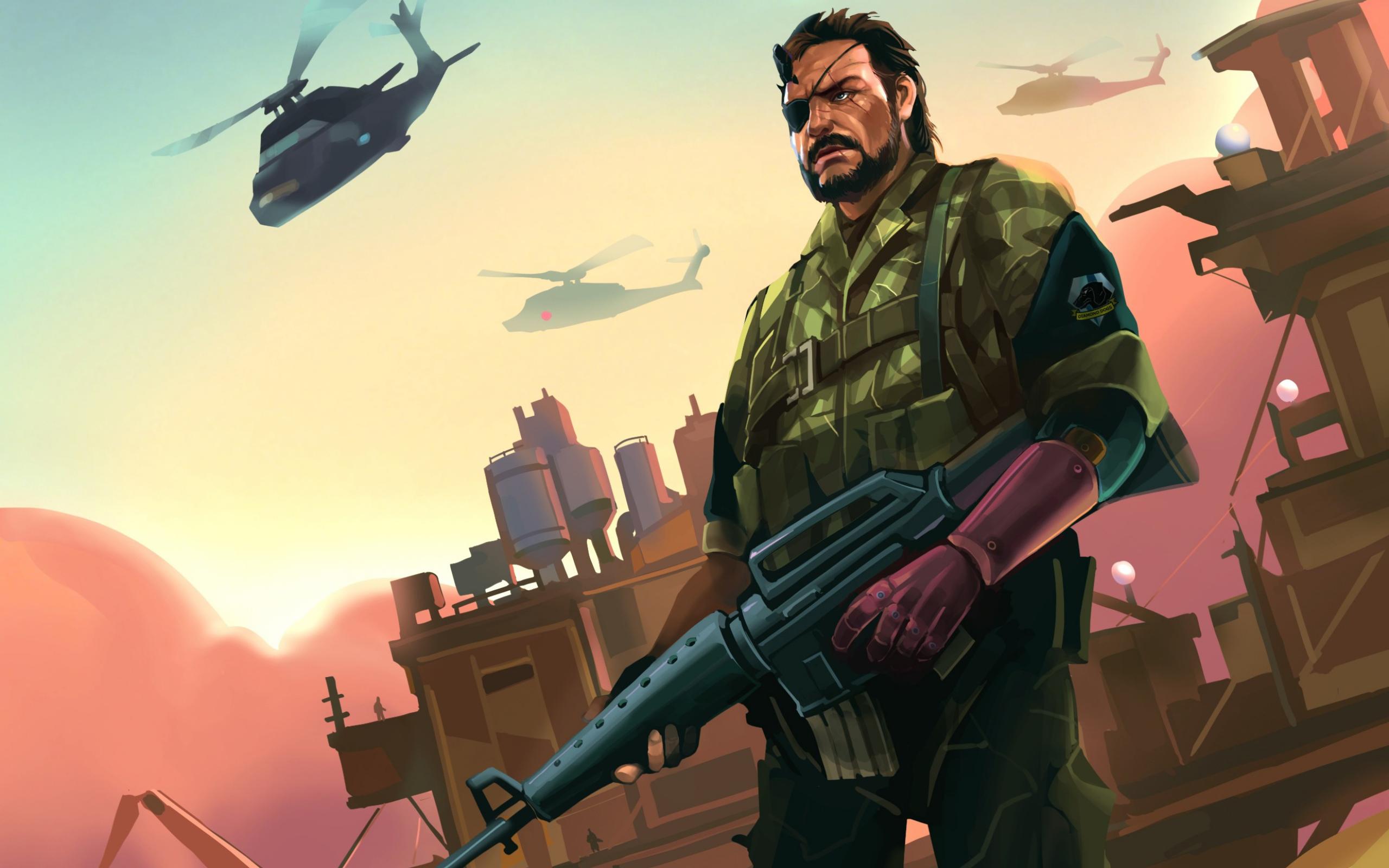 Download 2560x1600 Big Boss Metal Gear Solid 5 Video Games