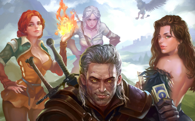 Wallpapers Artwork The Witcher 3 Wild Hunt Video Games