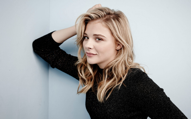 1920x1200 pix. Wallpaper Chloe Grace Moretz, women, blondes, actress, hairs