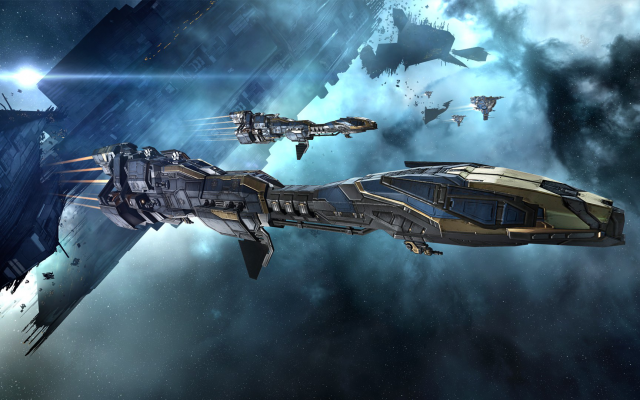 1920x1080 pix. Wallpaper EVE Online, Minmatar, video games, spaceship, concept art, science fiction, space, Stabber Cruiser