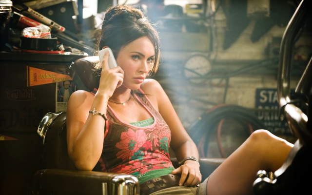 2560x1600 pix. Wallpaper Megan Fox, Transformers, brunettes, mobile phone