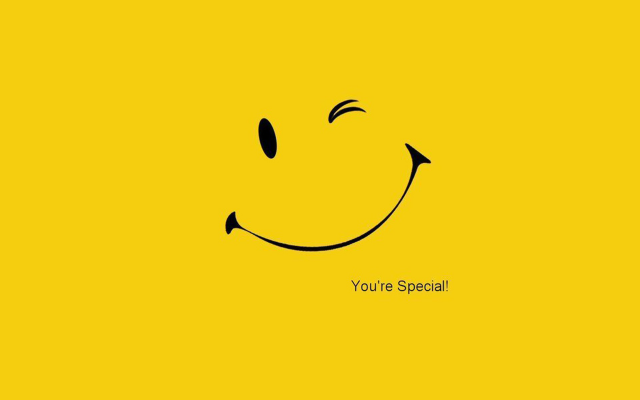 1920x1200 pix. Wallpaper motivational, smile, simple, yellow