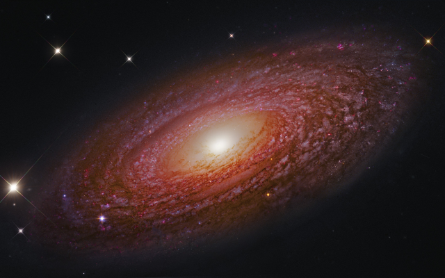 3789x2177 pix. Wallpaper Spiral Galaxy, universe, galaxies, NGC 2841 , astronomy