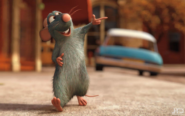 1920x1200 pix. Wallpaper ratatouille, cartoon, movies, mouse