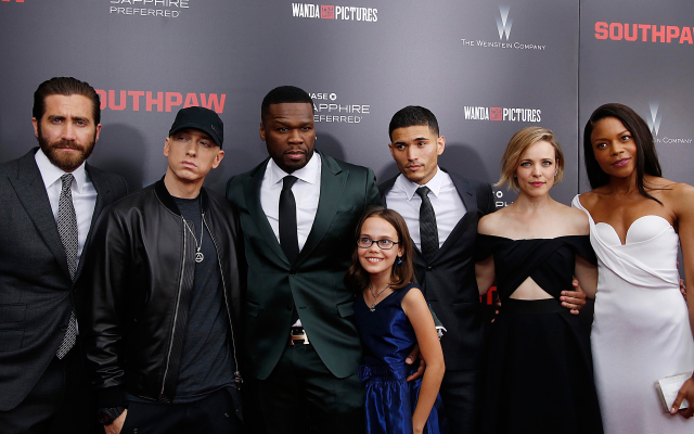 3600x2400 pix. Wallpaper southpaw, jake gyllenhaal, eminem, 50 cent, oona laurence, actors, movies