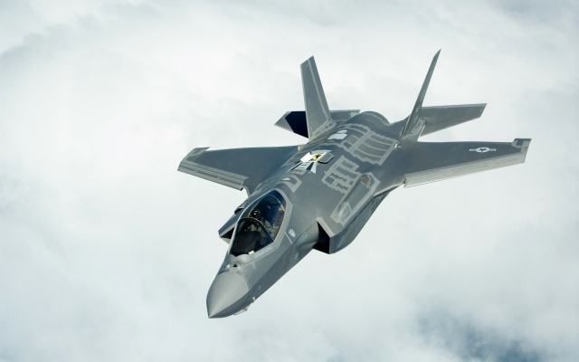 3840x2400 pix. Wallpaper lockheed martin, f-35, lightning ii, military aircraft, us air force, aircraft, jet fighter