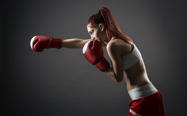4031x2691 pix. Wallpaper boxing, women, boxing gloves, redhead, sport, box