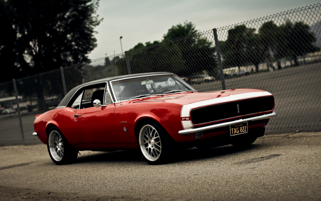 5184x3456 pix. Wallpaper chevrolet camaro, muscle car, american cars, chevrolet