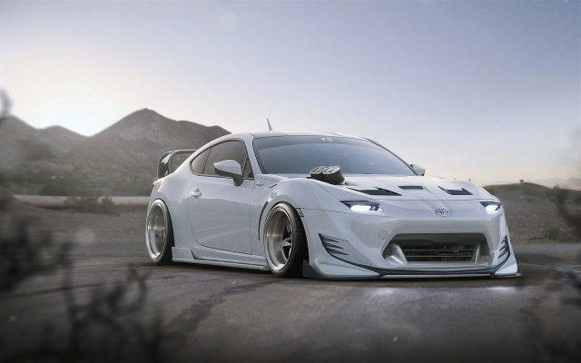 1920x1200 pix. Wallpaper toyota gt86, tuning, supercar, rotor 4, toyota, cars