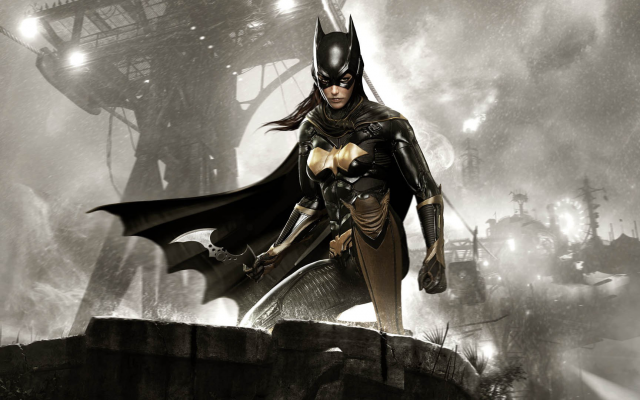 1920x1080 pix. Wallpaper Batman: Arkham Knight, Batman, Batgirl, Rocksteady Studios