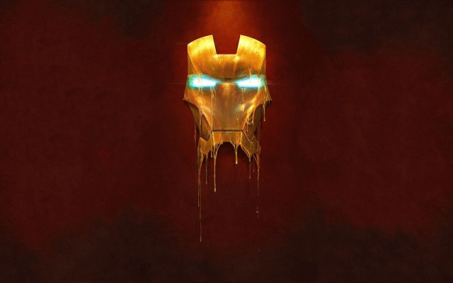 2560x1440 pix. Wallpaper Iron Man, mask, simple, graphics, movies