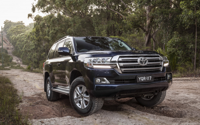 Wallpapers 2017 Toyota Land Cruiser 200 Series Toyota Land