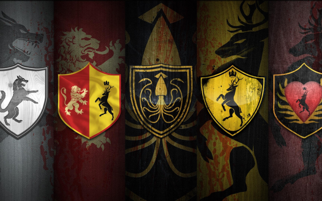 5120x2880 pix. Wallpaper game of thrones, fantasy, house sigils, house colors, movies, war of the five kings, ice and fire