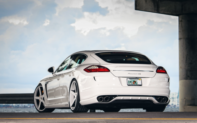 4594x2794 pix. Wallpaper porsche panamera, vossen wheels, porsche, tuning, cars
