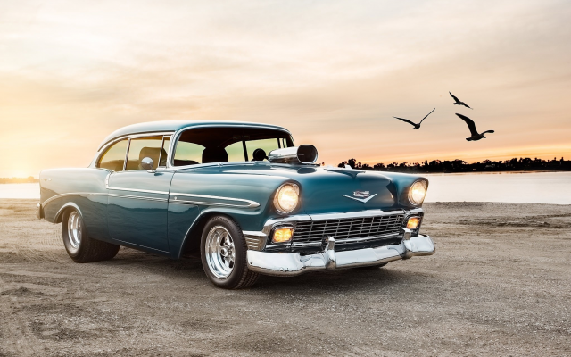 2048x1340 pix. Wallpaper 1956 chevrolet bel air sport coupe, chevrolet bel air, cars, chevrolet, retro cars