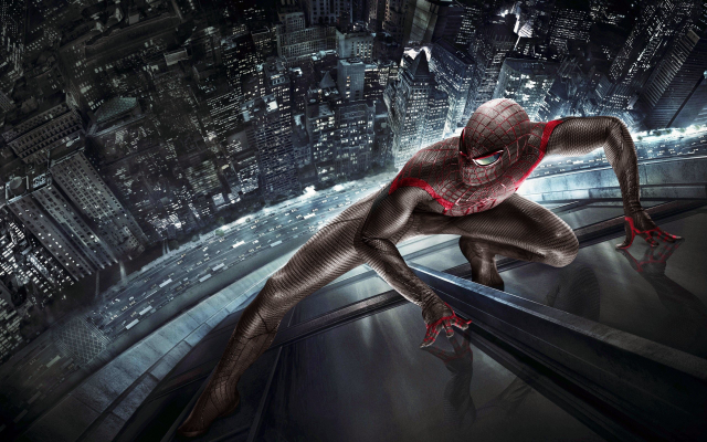 2560x1600 pix. Wallpaper superheroes, Spider-Man, The Amazing Spider-Man, movies, skyscrapers