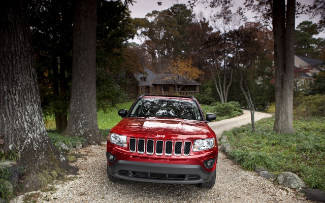 1920x1200 pix. Wallpaper 2011 jeep compass, cars, jeep compass, jeep, red cars
