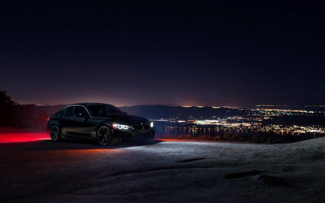 4096x2160 pix. Wallpaper bmw m3 f80, black cars, bmw m3, bmw, night, cars