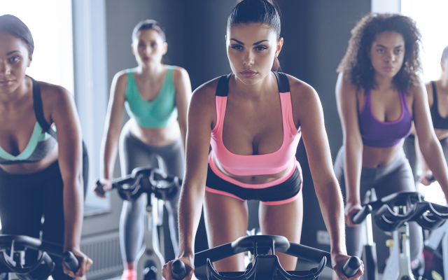 5474x3653 pix. Wallpaper gym, group, women, girls, look, sporty, sexy