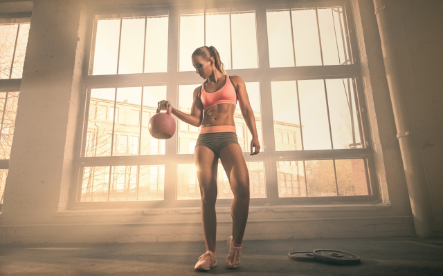 2048x1367 pix. Wallpaper gym, weight, athlete, fitness, model, girl, sport, tanned