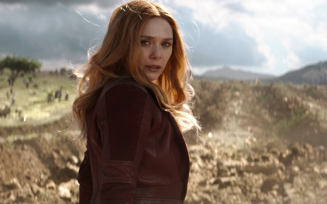 1920x1080 pix. Wallpaper avengers: infinity war, elizabeth olsen, scarlet witch, wanda maximoff, movies, actress, redhead, women