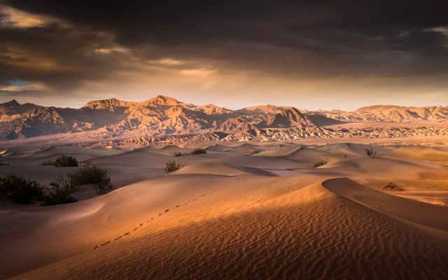 4800x2700 pix. Wallpaper nature, sand, desert, clouds