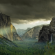 yosemite national park, usa, cliff, mountain, valley, landscape, nature, yosemite wallpaper