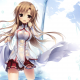 anime girls, Yuuki Asuna, Sword Art Online wallpaper