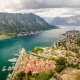 Montenegro, city, Kotor Bay, bay, yacht wallpaper