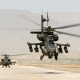 Boeing, AH-64, Apache, helicopter, military aircraft, desert, aviation wallpaper