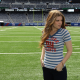 Kate Mara, actress, celebrity, brunette, stadium, women wallpaper