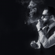 smoking, smoke, suit, watches, men wallpaper