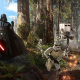 Star Wars, Star Wars: Battlefront, Darth Vader, stormtrooper, Galactic Empire, video games, forest wallpaper