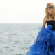 Shakira, women, singer, dress, sea, legs wallpaper