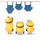 minions, nude, jeans, cartoon wallpaper