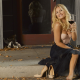 elisha cuthbert, blonde, smile, wine, dress, actress, women wallpaper