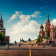 Moscow, Kremlin, Russia, cityscape, architecture, city, building, urban, town squares, cathedral wallpaper
