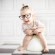 children, baby, glasses, toilet, girl wallpaper