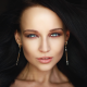 Angelina Petrova, women, face, lips, portrait wallpaper