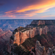 Grand Canyon National Park, Arizona, grand canyon, canyon, sunset, usa wallpaper