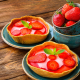 strawberry, berry, pie, food wallpaper