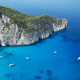 Zakynthos, Navagio, Greece, tropical, water, cliffs, boats, sea wallpaper