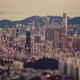 hong kong, tilt shift, city, world, skyacrapers wallpaper