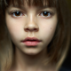 face, brown eyes, closeup, blurred, bangs, face, brunette, women, girl wallpaper