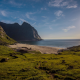 Kvalvika, Whales, Flakstad, lofoten islands, norway, beach, nature wallpaper