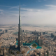Dubai, Burj Khalifa, skyscrapers, city, uae wallpaper