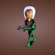 Mars Attacks, artwork, brain wallpaper