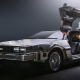 back to the future, delorean, supercar, time travel wallpaper
